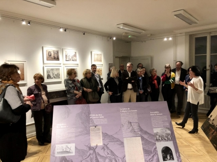 Explications de Karin Rivollet, coorganisatrice de l'exposition