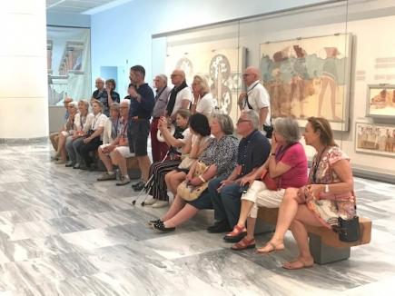 Visite au Musée d'Heraklion